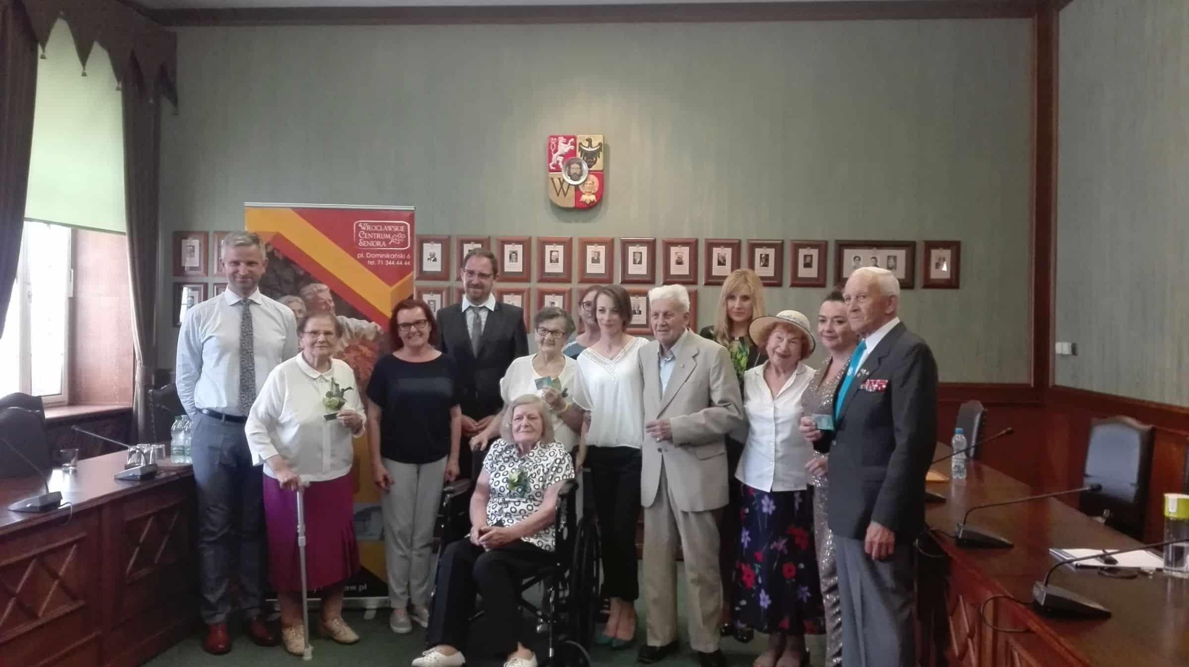 Nowość: Szmaragdowa Wrocławska Karta Seniora