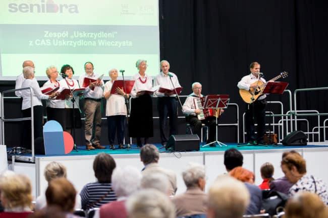 Targi Seniora w Krakowie - występ zespołu