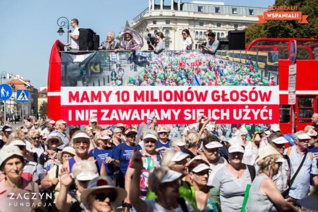 Podsumowanie Parady Seniorów 2019 (fot. Magdalena Starowieyska)