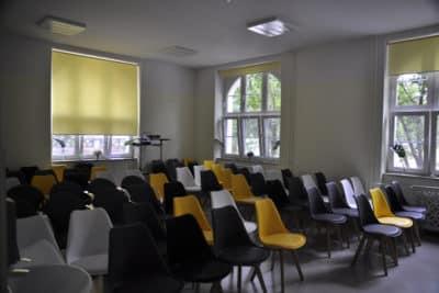 Dzienny Dom Pobytu Semaforowa, sala projekcyjna