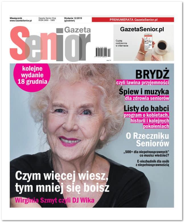 Gazeta Senior grudniowy numer 12/2019