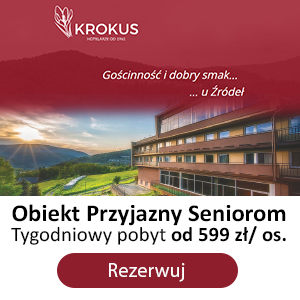 Reklama hotel Krokus