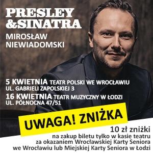 Koncert Mirosław Niewiadomski Reklama