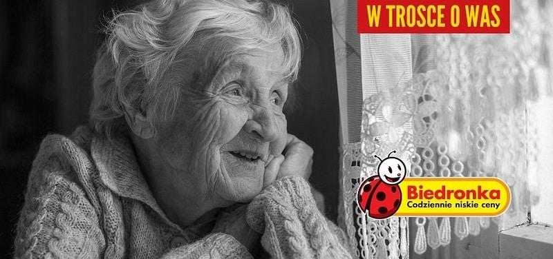 Przywileje dla seniorów w sklepach Biedronka na czas pandemii