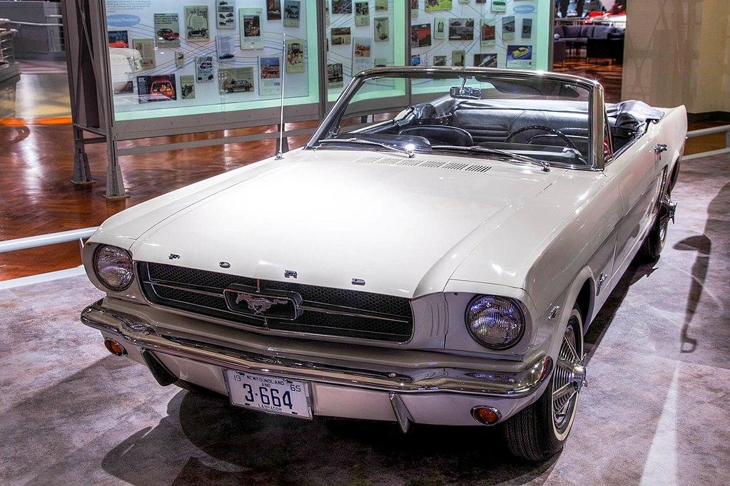Ford Mustang I - pierwszy egzemplarz