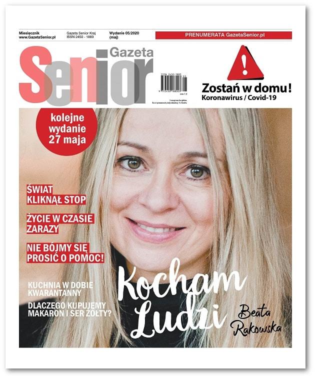 Gazeta Senior wydanie maj 2020