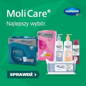 Produkty chłonne Molicare Reklama