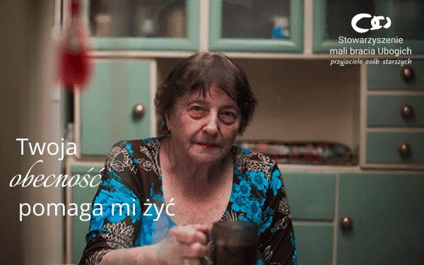 """Teledysk promujący zbiórkę dla samotnych seniorów zespołu Nastroje do piosenki """"Nie ma mnie przy tobie"""""""