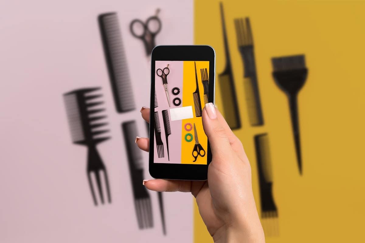 Jak bezpiecznie umówić się do fryzjera lub kosmetyczki?