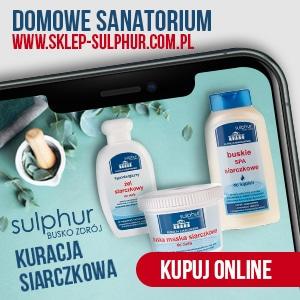Kuracja siarczkowa Sulphur - domowe sanatorium