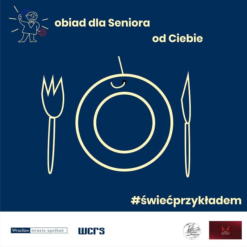 Danie dla Seniora – wsparcie dla potrzebujących seniorów i wrocławskiej gastronomii