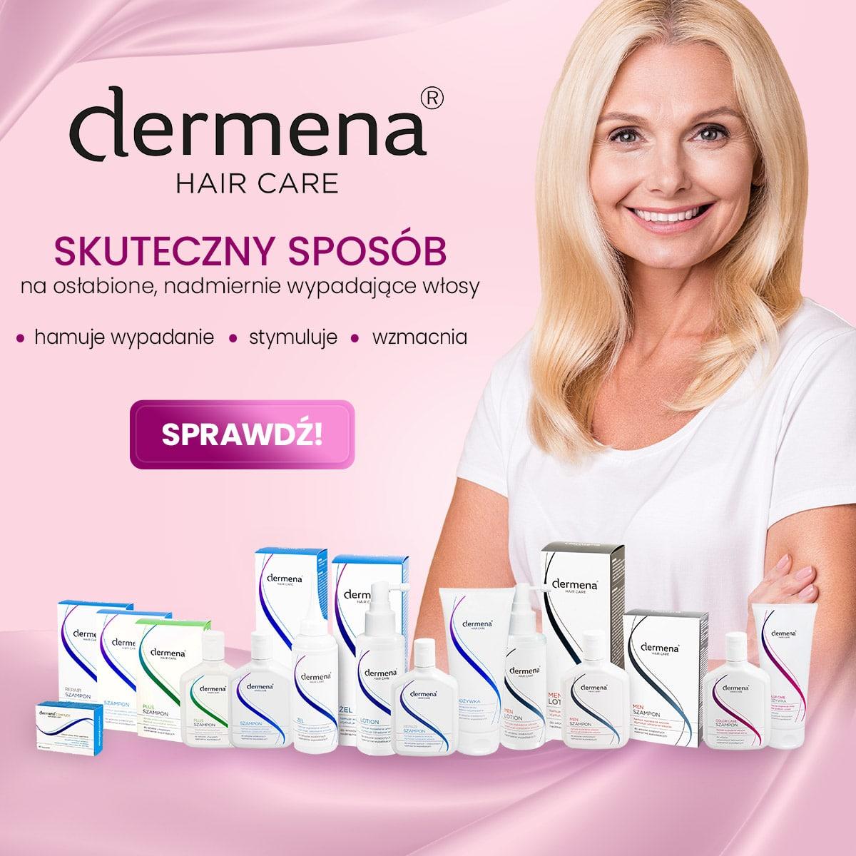 Dermena - kosmetyki na suche włosy