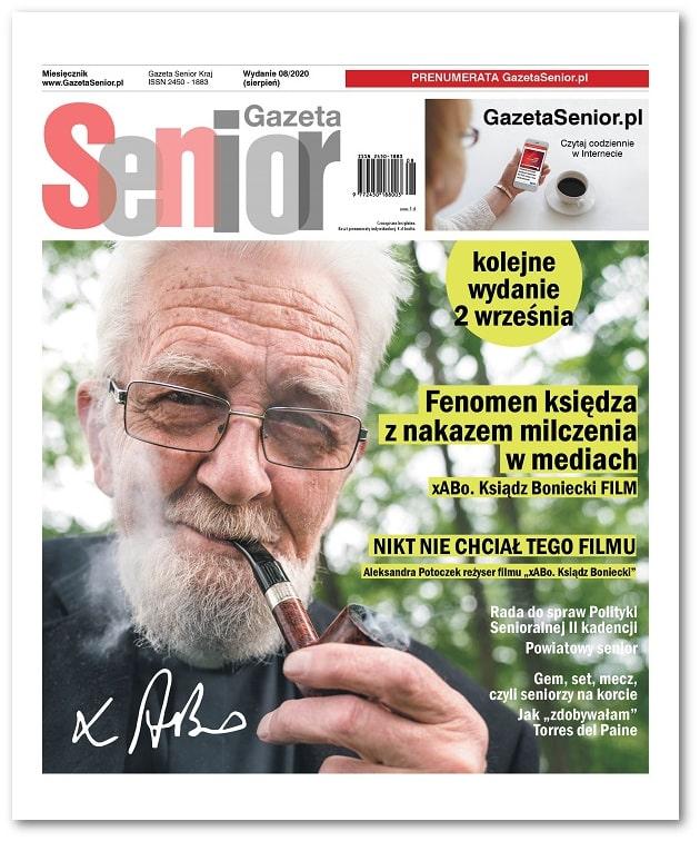 Gazeta Senior wydanie sierpień 2020