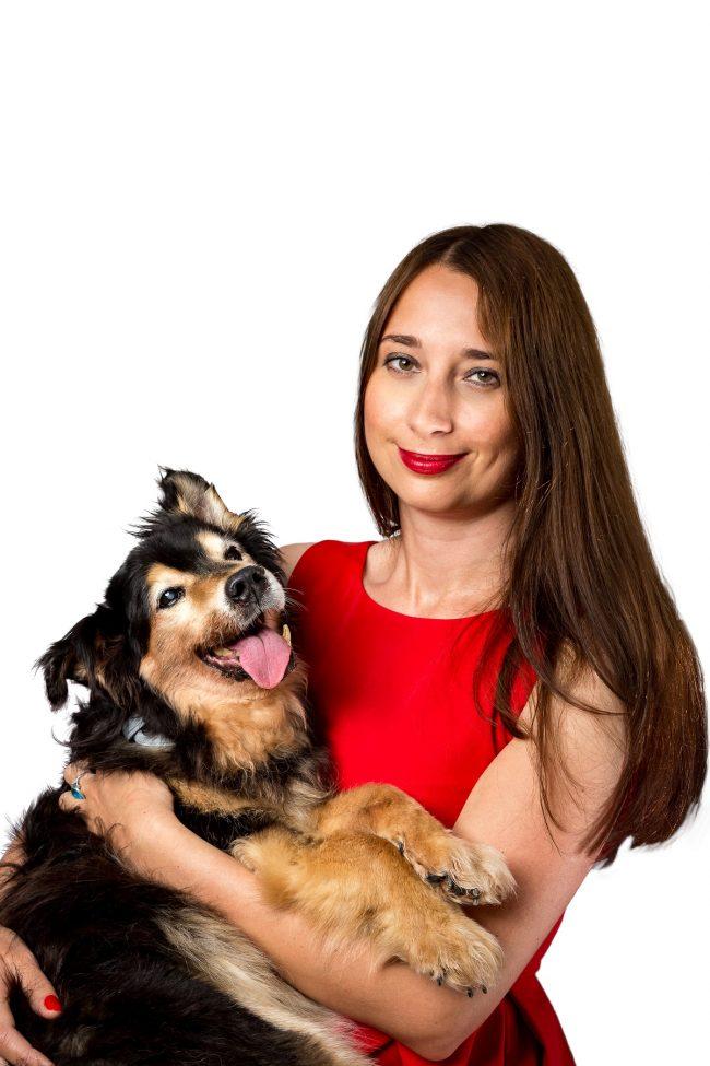Pies Gucio i Marta Matyszczak