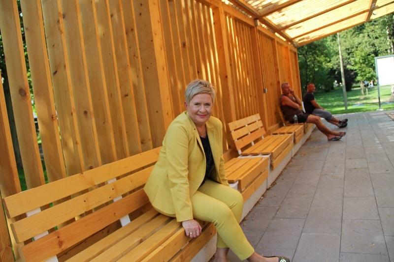 Beata Klimek, prezydent Miasta troszczy sie o zdrowie mieszkańców