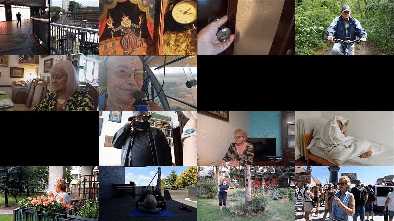 Filmy seniorów o pandemii. Rozmowy z twórcami! Link do filmów!