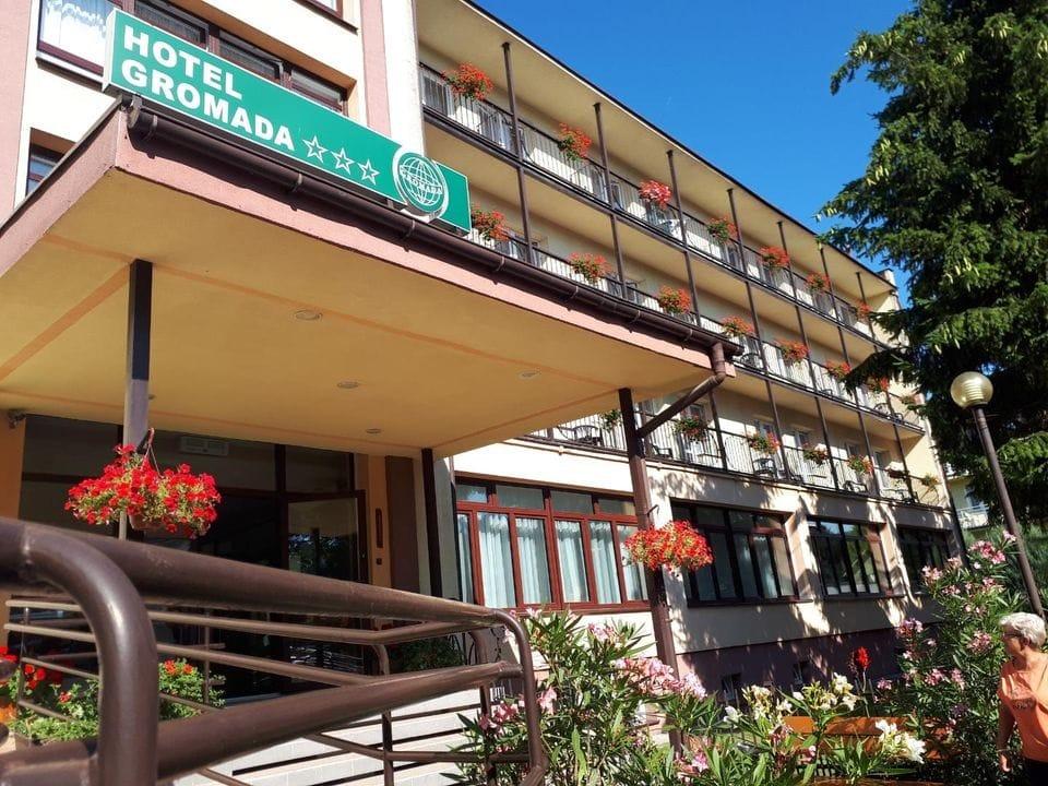 Hotel Gromada w Busku Zdroju