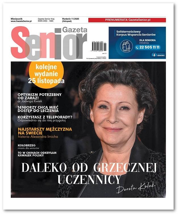 Gazeta Senior wydanie listopad 2020