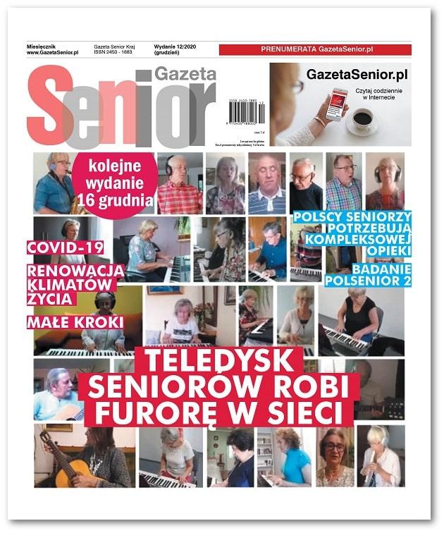 Gazeta Senior wydanie grudzień 2020