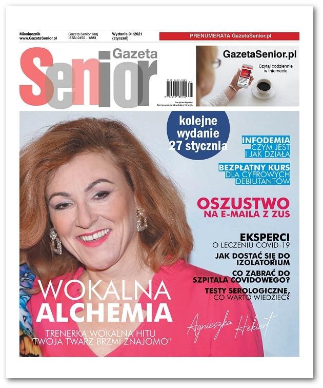 Gazeta Senior wydanie styczeń 2021