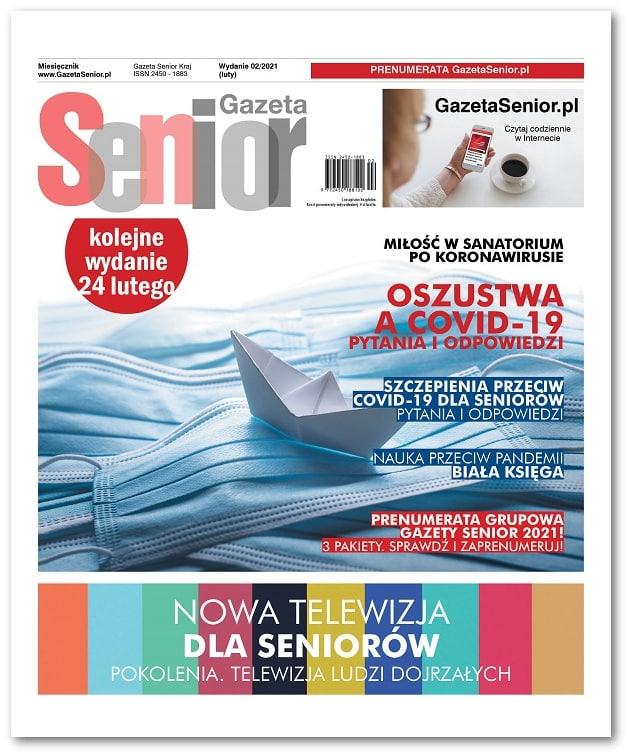 Gazeta Senior wydanie luty 2021