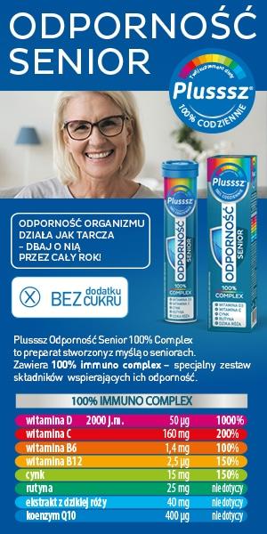 Reklama Plusssz Odporność senior