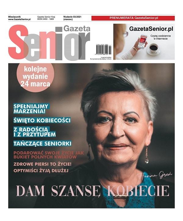 Gazeta Senior marzec 2021 okładka