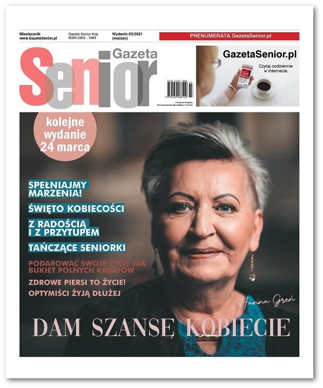 Gazeta Senior wydanie marzec 2021