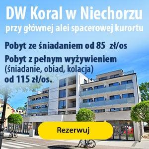 Reklama DW Koral Niechorze