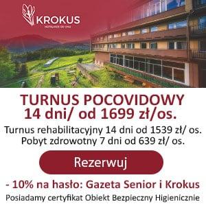 Reklama hotel Krokus