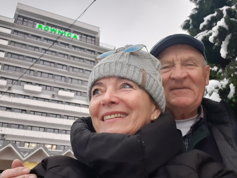Miłość w sanatorium po koronawirusie. Iwona Mazurkiewicz i Gerard Makosz z Sanatorium Miłości