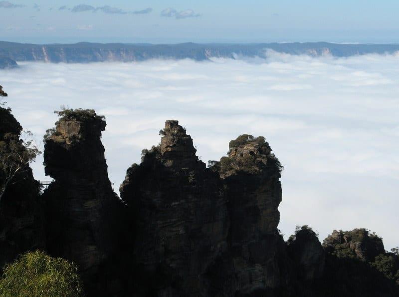 Trzy Siostry (1) – Góry Błękitne