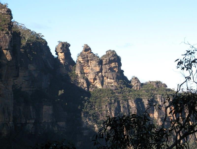 Trzy Siostry (2) – Góry Błękitne