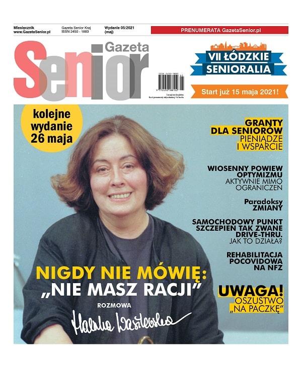 Gazeta Senior maj 2021 Okładka