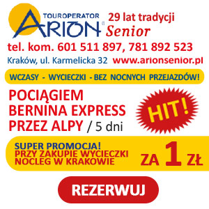 Reklama Arion Senior