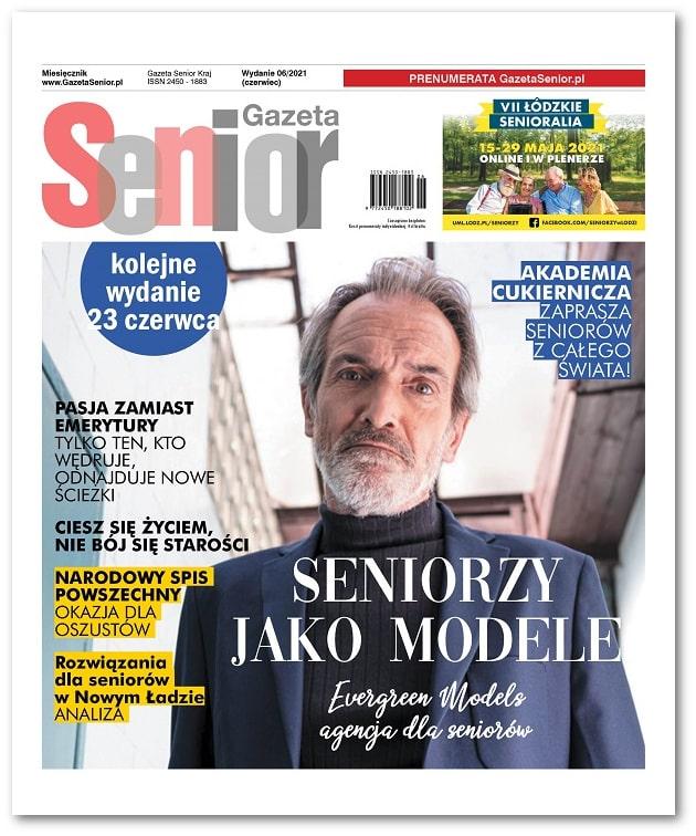 Gazeta Senior wydanie czerwiec 2021