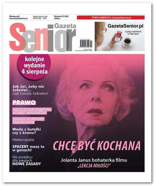 Gazeta Senior wydanie lipiec 2021