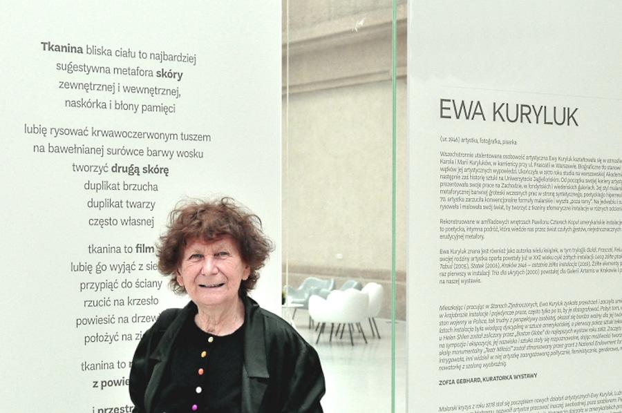 Wystawa Ewy Kuryluk. Warto zobaczyć