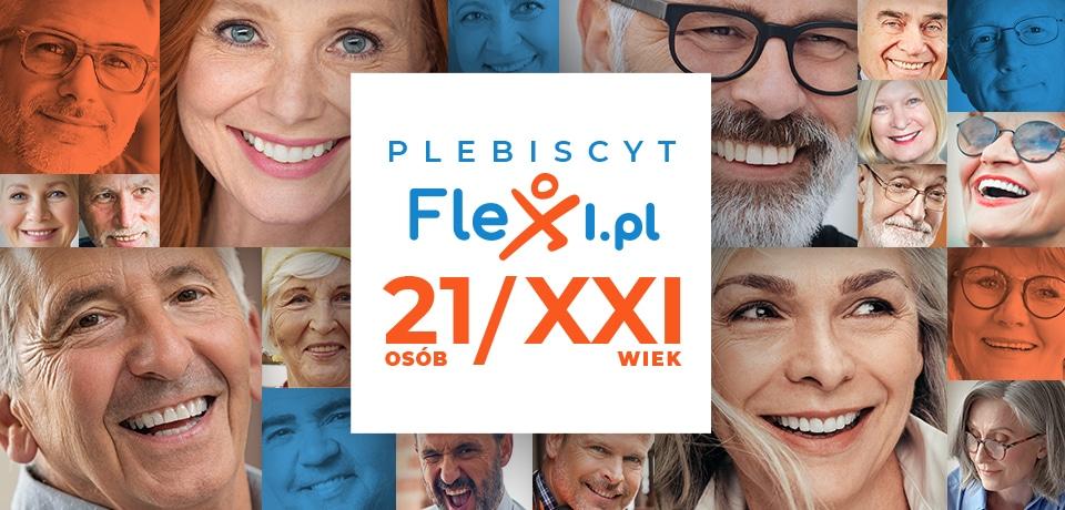 Plebiscyt dla aktywnych seniorów. Flexi na XXI