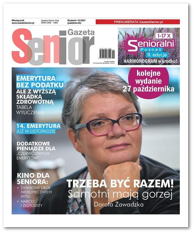 Gazeta Senior wydanie październik 2021