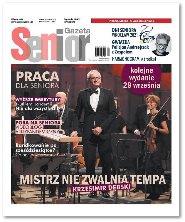 Gazeta Senior wydanie wrzesień 2021