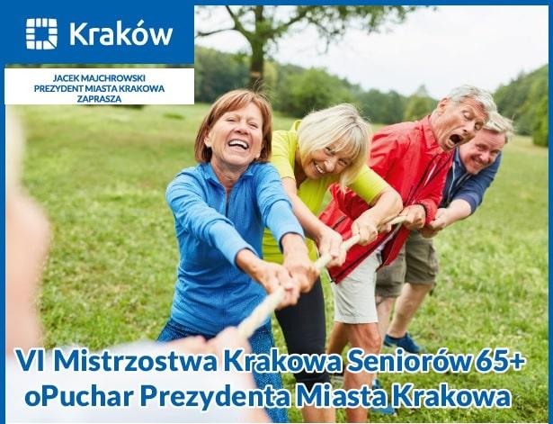 VI Mistrzostwa Seniorów 65+. Rywalizacja o Puchar Prezydenta Miasta Krakowa