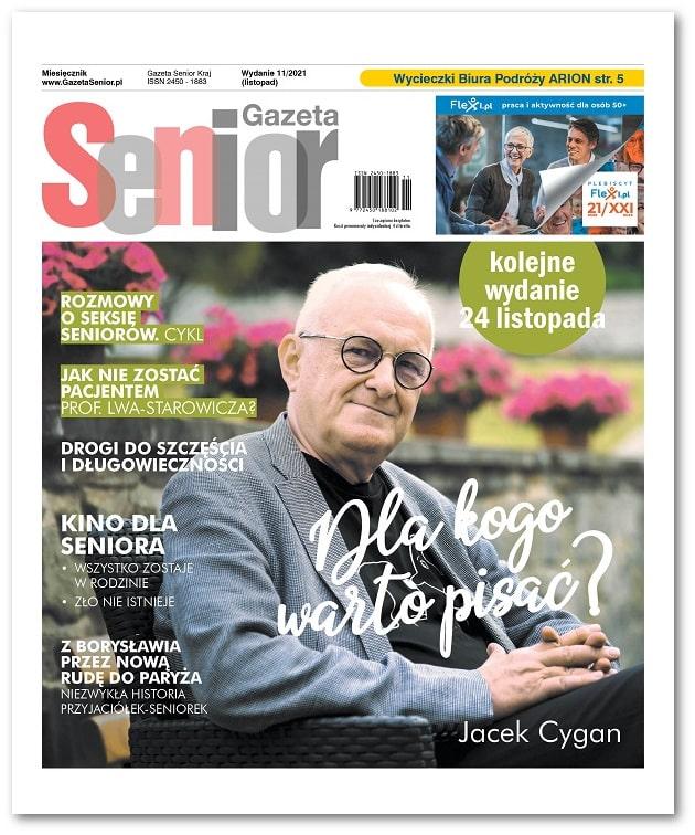 Gazeta Senior wydanie listopad 2021
